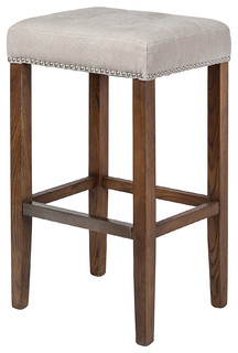 Ash Bar Stool Beige