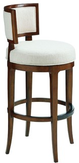 Tommy Bahama Home Island Fusion Macau Swivel Bar Stool
