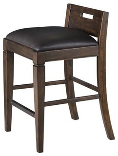 Magnussen Pine Hill Counter Height Chair Rustic Pine