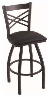Holland Bar Stool 820 Catalina 25 Counter Stool Black Wrinkle Finish