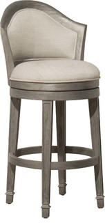 Monae Swivel Counter Stool Distressed Dark Gray