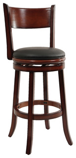 Dune Palmetto Swivel Bar Stool Brandy