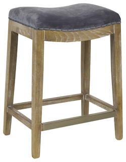 Harper Counter Stool Plum Gray