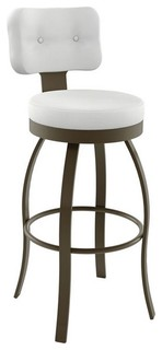 Exquisite Upholstered Swivel Stool Bar Height 30 quot