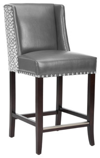 Bonded Leather Counter Stool Diamond