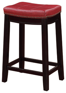 24 quot Claridge Counter Stool Red
