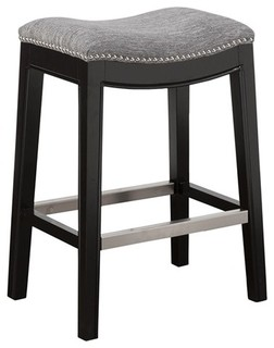 Bodmin Saddle Counter Stool Gray