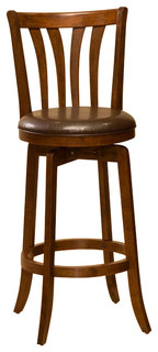 Stafford Swivel Bar Stool Cherry