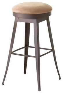 Backless Swivel Stool Counter Height 26 quot