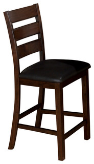 Jofran 337 BS923KD Taylor Triple Slat Counter Height Stool in Cherry