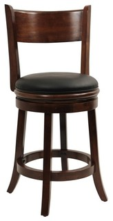 Dune Palmetto Swivel Counter Stool Walnut