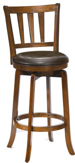 Presque Isle Swivel Bar Stool Cherry