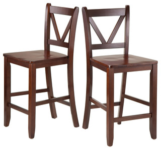 Victor 2 Piece Counter Stool Set