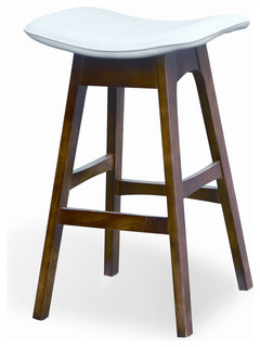 Sketch Bar Stool White