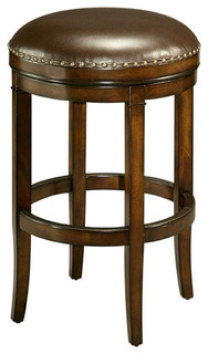 Naples Bay Backless Counterstool Distressed Cherry
