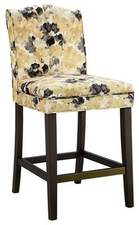 Camel Back Counterstool Yellow