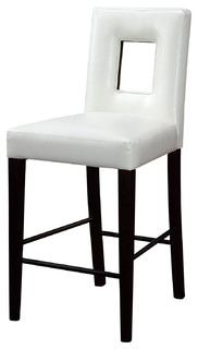 Global Furniture USA G072BS Vinyl Bar Stool in Beige and Wenge