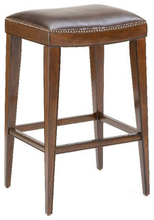 Hillsdale Riverton Backless Bar Stool in Rustic Cherry