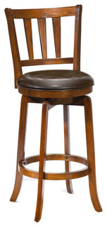Lennard Swivel Stool Cherry