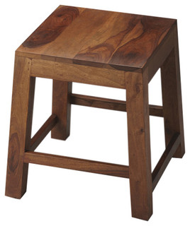 Butler Hewett Solid Wood Stool