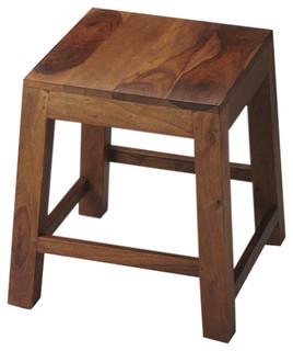 Butler Hewett Solid Wood Stool