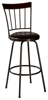 Cantwell 45 quot Swivel Counter and Bar Stool With Nested Leg