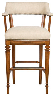 Vanguard Furniture Captains Barstool V64 BS EN