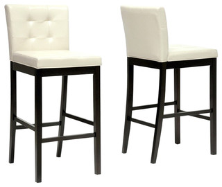 Prospect Bar Stools Set of 2 Cream