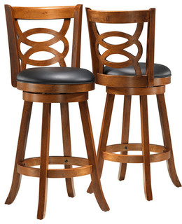 Monarch Swivel Counter Stools Set of 2 39 quot