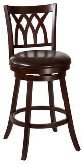 Hillsdale Tateswood Swivel Bar Stool in Cherry