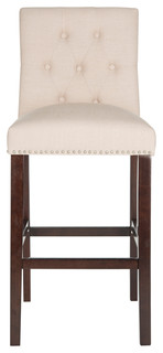 Safavieh Norah Barstool Set of 2 Beige
