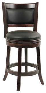 Dune Augusta Swivel Counter Stool Cappuccino