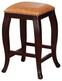 Britchard Square Counter Stool Caramel