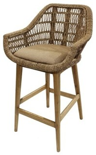 Leia Bar Stool Natural