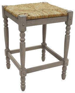 Thomasville Counter Stool Weathered Gray
