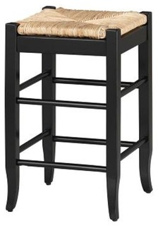Cypress Counter Stool Black