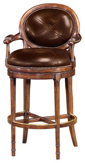 Theodore Alexander Classic Yet Casual at The Barolo Barstool