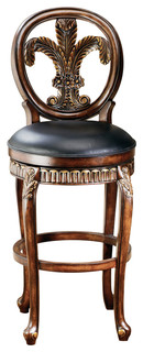 Arcadia Leather Barstool
