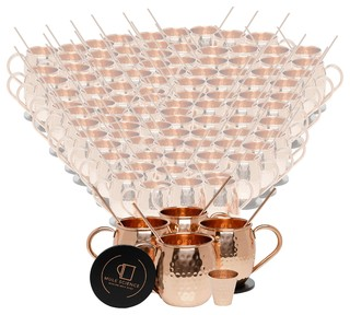 Pure Copper Moscow Mule Mugs 16 oz Set of 100