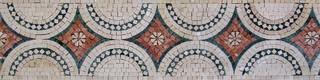 """Mosaic Frieze Uffizi 8""""x12"""""""