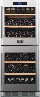 "Kucht 24"" Dual Zone Wine Cooler with 84 Bottle Capacity Touch Key"