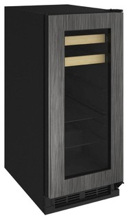 "U-Line 15"" 1000 Series Beverage Center with 3 cu. ft. Capacity in Panel Ready"