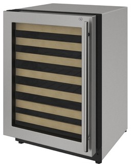 """U-Line 24"""" Wine Captain with Convection Cooling System 4.7 cu. ft. Capacity"""