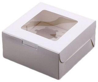 10-Piece Cupcake Carrier Food Storage Cake Keeper A23