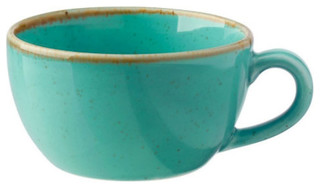 Vega Dinnerware Series Sidina Series Turquoise Coffee Cup