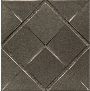 "4""x4""x7/16"" Decorative Ambiance Trim Brushed Nickel Style"