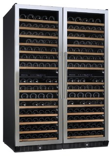 N'Finity Pro Double L Wine Cellar Stainless Steel Door