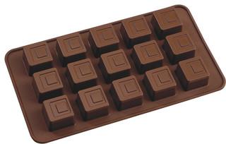 La Patisserie Silicone Chocolate Mould Square Set of 2