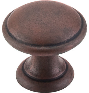 """Top Knobs  -  Rounded Knob 1 1/4"""" - Patina Rouge"""