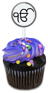 Ek Onkar Cupcake Toppers Picks Set